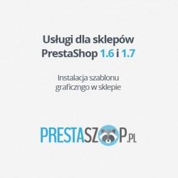 PrestaShop instalacja szablonu