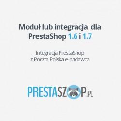 Integracja z Poczta Polska - e-nadawca