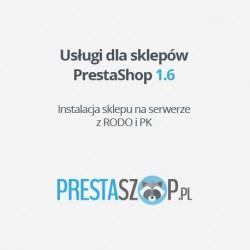 PrestaShop 1.6  sklep z RODO i PK