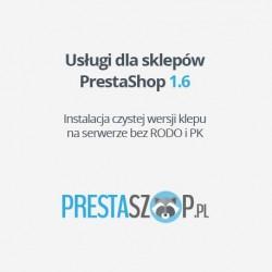 PrestaShop 1.6  sklep bazowy