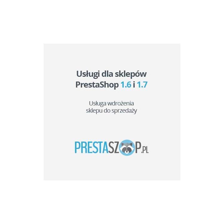 Wdrożenie PrestaShop, scenariusz sprzedaży