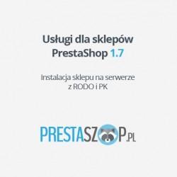 PrestaShop 1.7  sklep z RODO i PK