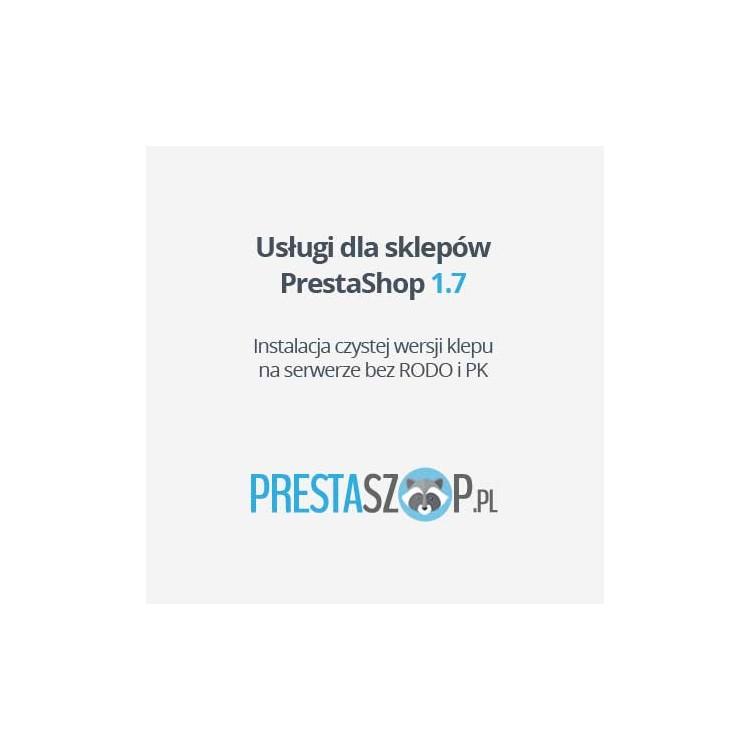 PrestaShop 1.7  sklep bazowy