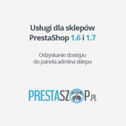 PrestaShop odzyskanie hasła